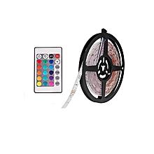 Led Strip, 5M 16.4ft 3528 SMD 300LEDs RGB Color Changing Flexible Led Strip Light Kit + 44key IR Remote Controller
