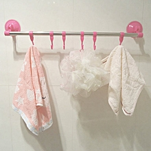 Super strong suction towel kitchen bathroom hook rack Storage Shelf