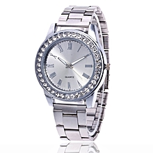 T0101-G1 Silver Quartz Watch Silver