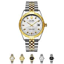 Men Brand Watch Fashion Luxury Wristwatch Waterproof Semi-automatic Mechanical Watch Luminous Sport Casual Watches