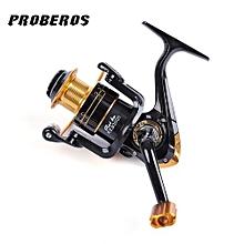 Proberos 12 Ball Bearings 5.2:1 Metal Spool Spinning Fishing Reel-COLORMIX
