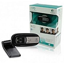 C170 USB Webcam - Black