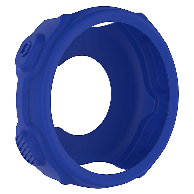 Guoaivo Soft Silicone Protector Case Cover For Garmin Forerunner 235 GPS  Watch BU -Blue