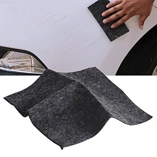 AfricanmallDN store  Car Scratch Repair Nanometer Surface Rags Light Paint Scratches Remover Care-Black