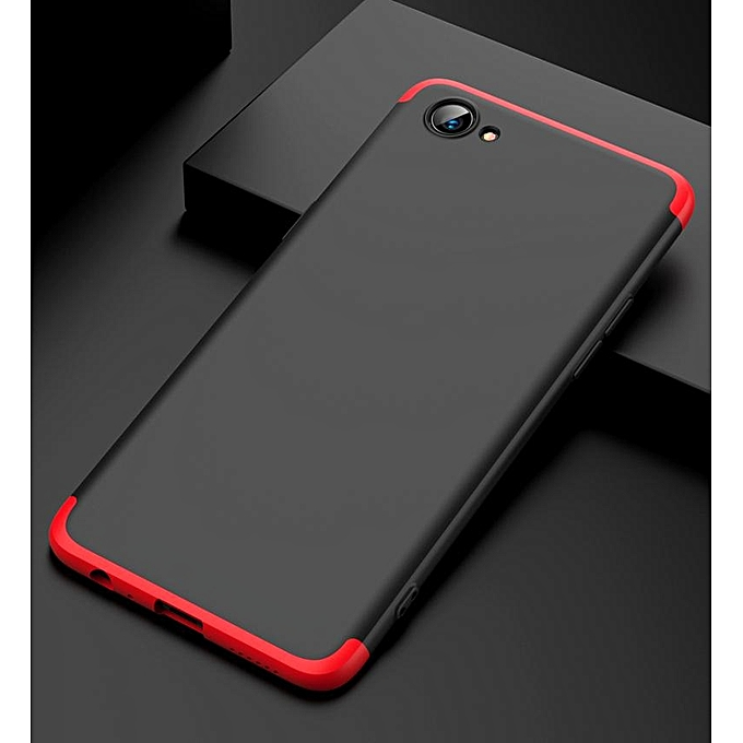 huge selection of 817ef 6c598 Case For Oppo Realme 1 Case 360 Degree Full Body Protection Phone Back  Cover Coque For Oppo Realme1 Hard Plastic Cases