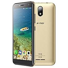 """V15- 5.0"""" - 16GB+1GB- Android 8.1- 5MP- Dual SIM- Gold"""