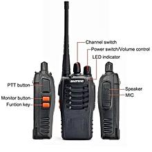 (5 Units)Baofeng BF-888S BF888 / BF 888S / BF888s Walkie Talkie Set 5KM 16 Channel Radio UHF 5W
