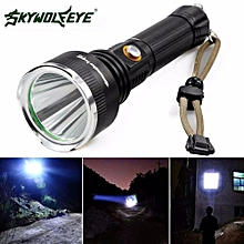 Camping & Hiking Flashlight Sky Wolf 5000 LM CREE XM-L T6 LED Flashlight 18650 Torch Flashlight 5Modes