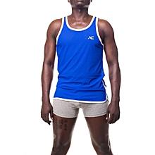 Rugby Mesh Vest in Royal Blue