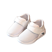 New Fashion Baby's Casual Sneakers Sports Shoes Outdoor Running Shoes- White