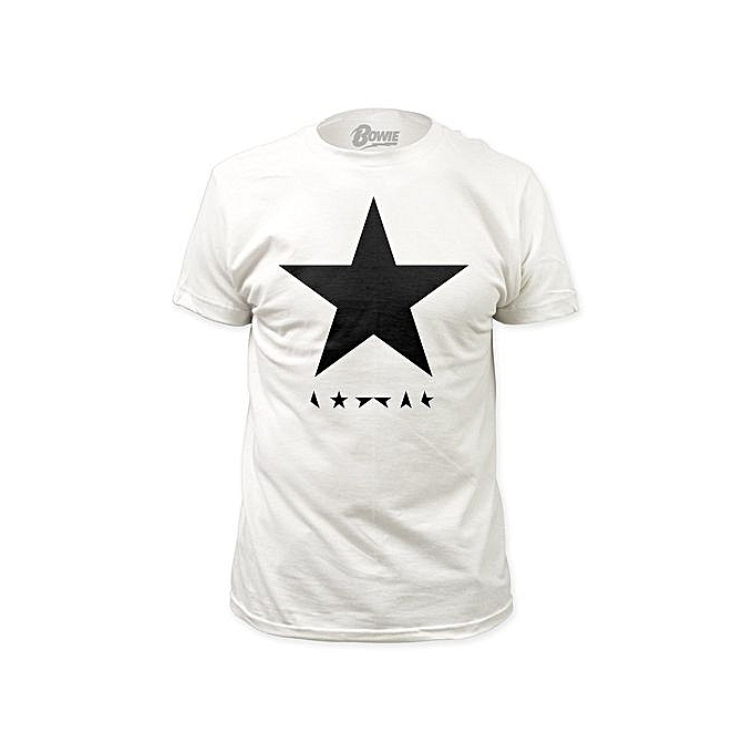 b87058d4bd Fashion Men Summer T-shirt David Bowie Black Star Fitted T-shirt Men ...