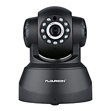 720P Wireless CCTV Security IP Camera  - Black