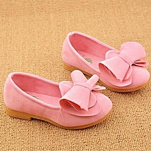9cd3c05850abf bluerdream-Toddler Baby Girls Soft Kids Bow Flats Casual Walking Princess  Shoes PK 23-