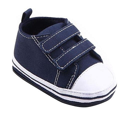 cfecedfc9fe3 YiQu bluerdream-Baby Infant Toddler Shoes Boys Girls Canvas Soft Sole  Sneaker Shoes BU 13-Blue