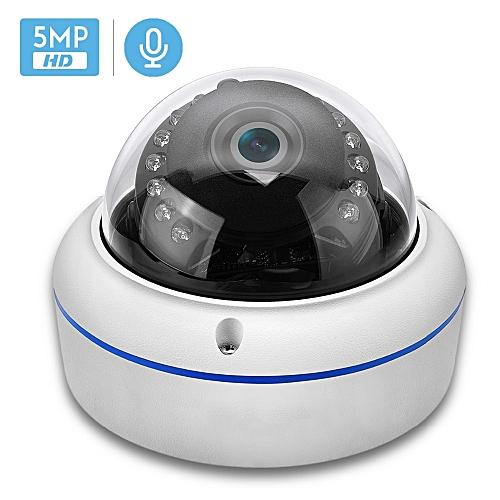 2MP 3MP 5MP Audio H265 IP Camera 2 8mm Vandalproof 48V POE CameraOnvif P2P  Motion Detect RTSP Email Alert POE CCTV Dome Camera(48V PoE 3MP)(6mm)
