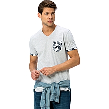 Grey Fashionable T-Shirt