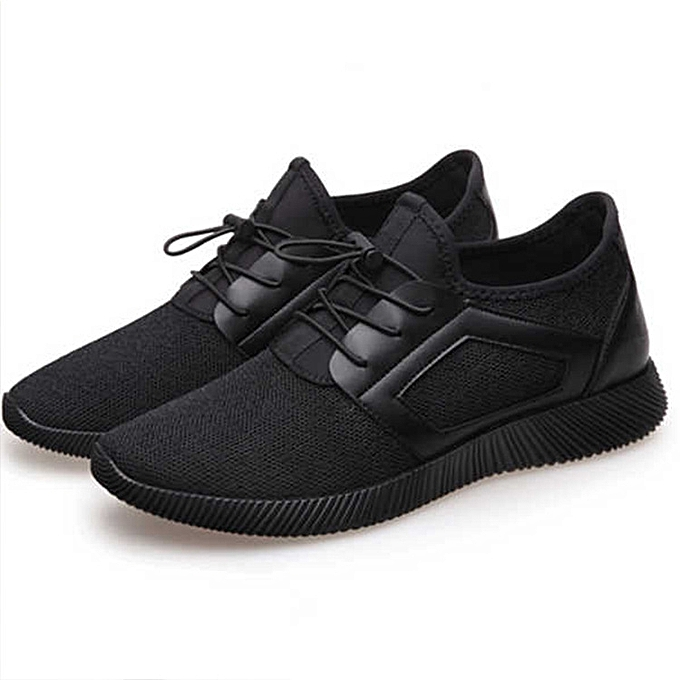 ad96a531f0a Hot Men s Sport Shoes Breathable Running Shoes Low Lace-Up Sneaker Casual  Outdoor Shoes