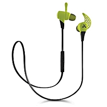 Wireless Mini Sport Gaming Bluetooth Earphones Fire(Green)