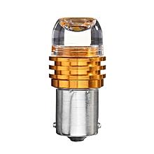 1156 5630 3 LED Yellow Brake Turn Signal Reversing Light Bulb