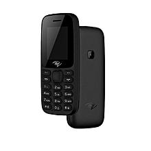 "2171 phone- Wireless FM,1.77"", 1000 mAh,rear Camera, Bright Torch, Dual SIM  - Black"