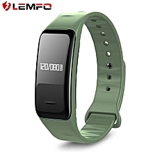 LEMFO C1 Pedometer Heart Rate Monitor Call Reminder Sport Bluetooth Smart Band Bracelet For IOS For Android