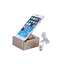 3 USB Port Smart Button Desktop Charger Holder Mount for iPhone iPad Samsung Xiaomi HUAWEI