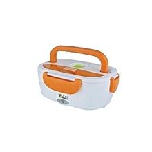 Electric Lunch warmer Box - Orange & White