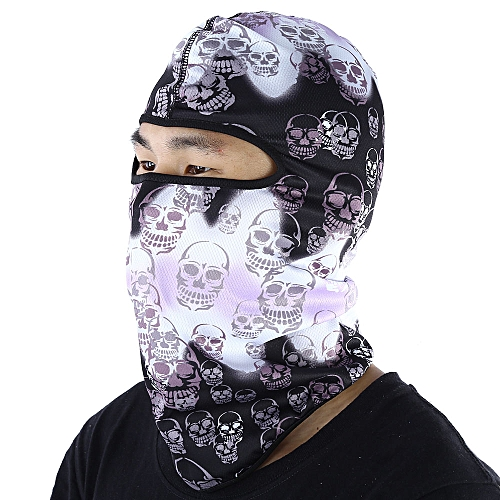 92a604304c4 Generic 3D Outdoor Sports Bicycle Ski Snowboard Motorcycle Skull Cap Helmet  Headgear Hats Protect Full Face Mask