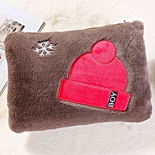 1Hat style-brownCartoon Han Ban the refresh type hot water bag warm water bag the flameproof warm hand treasure floss beginning beginning amiability give or get an electric shock a warm baby of warm treasure female