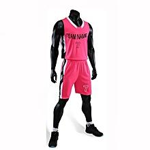 e4ce4b89a Best Sale Customized Casual Men  039 s Basketball Team Sport Jersey Uniform -Pink