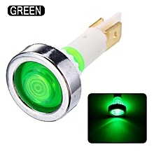 10mm LED Indicator Light Car Truck Boat Yacht Signal Lamp Pilot Dashboard Panel Warning Lamp 12V Green