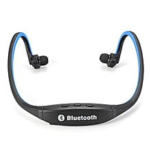 Sports Wireless Stereo Bluetooth Headset Headphone For IPhone Samsung HTC LG (Blue) NEW