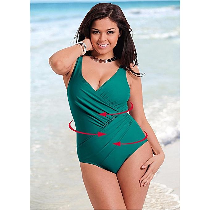 cfe74bb32703 One Piece Swimsuit Plus Size Swimwear Women Beach Lace Crochet Monokini  Swimsuit Retro Bathing Suit Swim Wear female(6)
