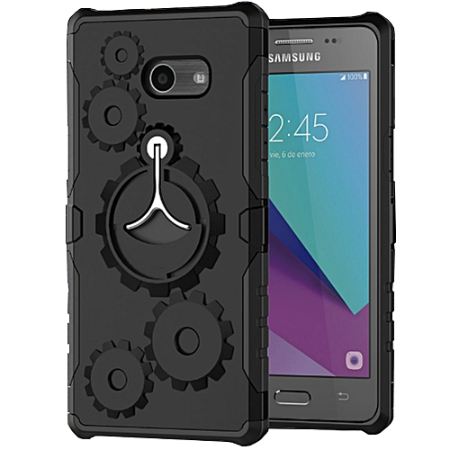 a1e92d20514d2 Generic Samsung Galaxy J3 Luna Pro Case Rugged Duty Protective Phone Case  Cover With Kickstand