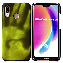 Paste Skin + PC Thermal Sensor Discoloration Case for Huawei P20 Lite