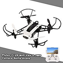 T12S WiFi FPV 0.3MP Camera Selfie Drone Altitude Hold G-sensor RC Quadcopter