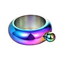 Home-Compact Size Bangle Bracelet Round Chic Elegant Wine Mixed Bottle Drinkware colorful