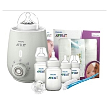 AVENT Bundle- Bottle Warmer & Avent New Starter Kit