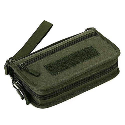 a6baf3e0ed0c Outdoor Sport Tactical Pouch Military Wallet Hand Bag Pack Mini Travel  Camping Hiking Passport Card Purses Bags - 3