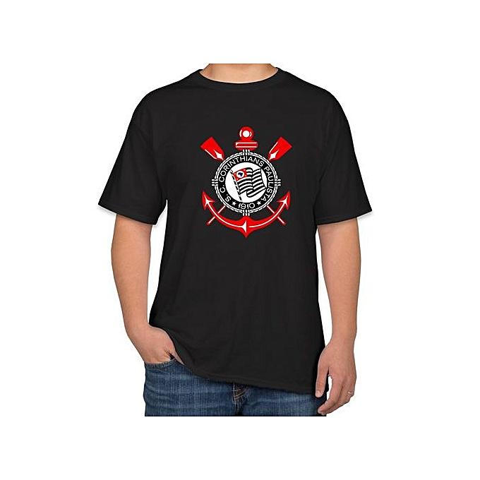 Sunlight T-shirt For Men Corinthians Paulista Fashion Printed Mens T Shirt  Round Neck Short 6aea0f5522dfd