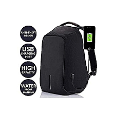 Anti-Theft Laptop Bag With USB Charging Port & Password Coded Zipper Lock Backpack