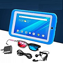 "K89 Kids Tablet - 7"" - 2.0MP Rear - 1.3MP Front - 1GB RAM - 16GB - Android - Blue"