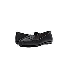 A2 Aerosoles Stitch and Turn Black Shoe