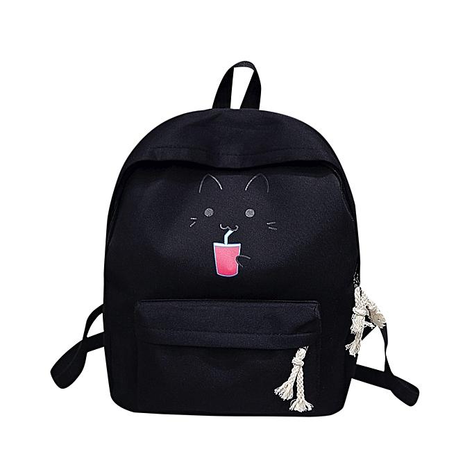 ... Hiamok Baby Kids Girl Boy Cartoon Zipper Backpack School Bags Fashion  Shoulder Bag 78e19ad9cd8bd