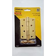 Stanley Brass Plate Door Hinges