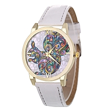 Africanmall store Women Quartz Analog Wrist Dial Delicate Watch Luxury Watches-White