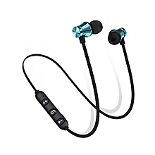 Portable Wireless Headphones Bluetooth Earphones Sports SweatProof Black&White