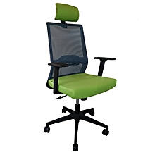 New Arrival ! Ergonomic High-back Office Chair with Mesh Back and Fabric Seat