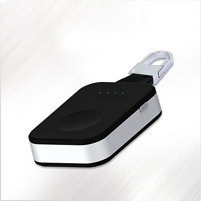 Consumer Electronics Supply Qi Wireless Charger Power Bank For Apple Watch I Watch 1 2 3 4 Portable Mini Wireless Charger External Battery Pack Keychain