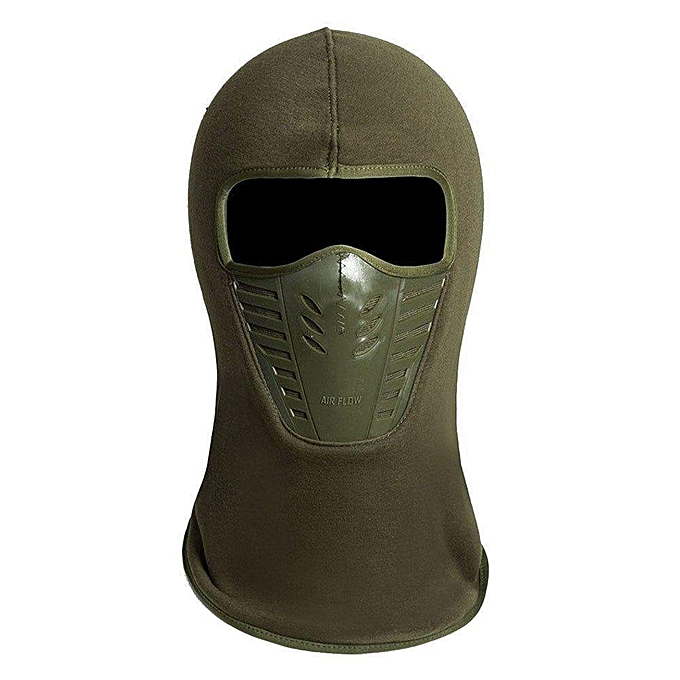 Balaclava Fleece Hood & Ski Mask with Air Mask